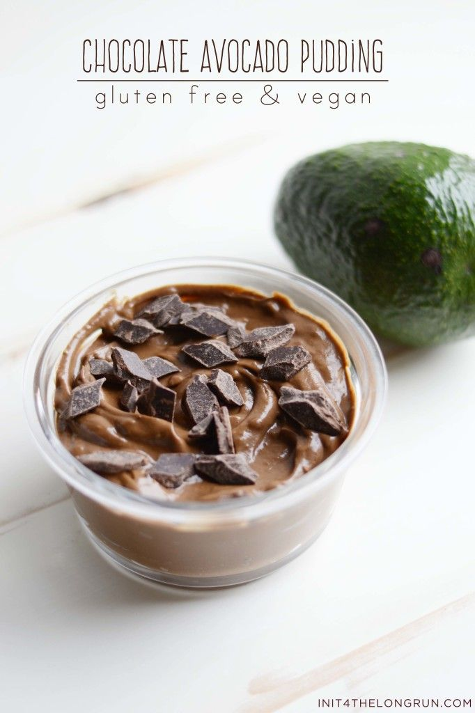 Chocolate Avocado Pudding // Harness the power of the avocado to create this luxuriously creamy chocolate avocado pudding. No dairy, grains, eggs, refined sugar or nuts makes this the perfect allergy friendly treat.