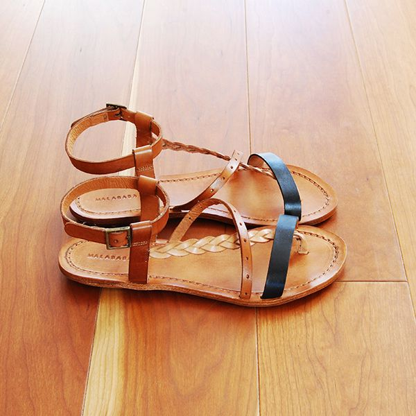 ELADIA leather sandals by Malababa SS14 #malababa #leather #sandals