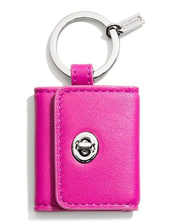 COACH Legacy Picture Frame Key Ring | Bloomingdale's  $38