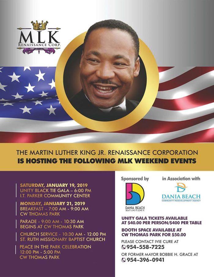 Dania Beach Calendar - MLK Parade: Event…- daniabeachfl gov