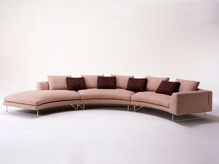 Tufted Sofa Upholstered round sofa ADD LOOK ROUND Add Look Collection by i Mariani design Mauro Lipparini