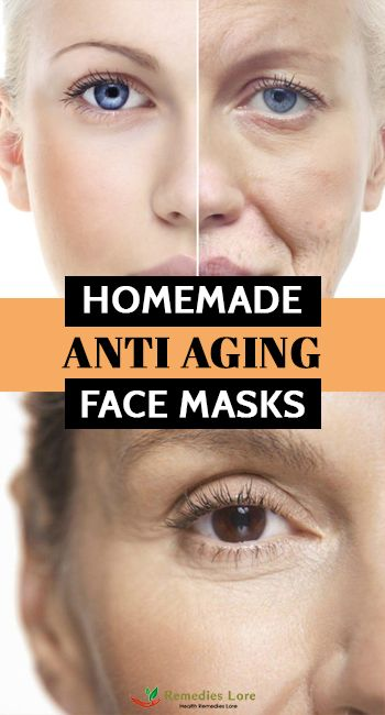 Homemade Anti Aging Face Masks