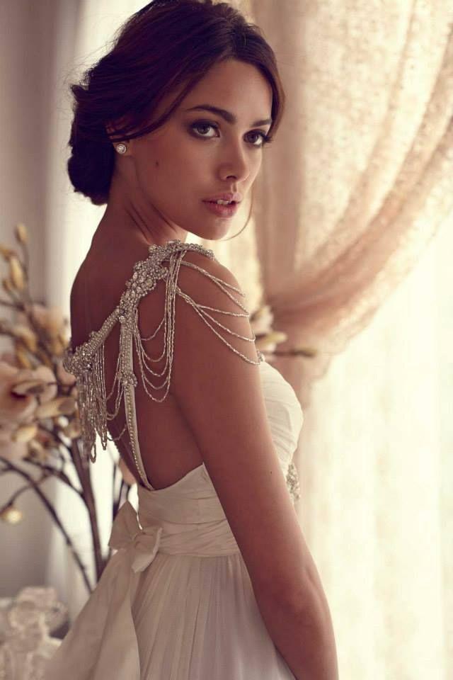 Wedding Dresses: Anna Campbell Gossamer Collection