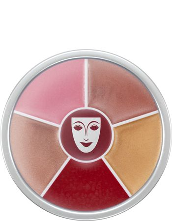 Lip Shine Circle. Kρεμώδες lip gloss με σιλικόνη για λαμπερά χείλη και glamour εφέ. Το προϊόν περιέχει βιταμίνες που προσφέρουν προστασία και απαλότητα. Σε στρογγυλή συσκευασία 6 αποχρώσεων.  https://gr.kryolan.com/proion/lip-shine-circle