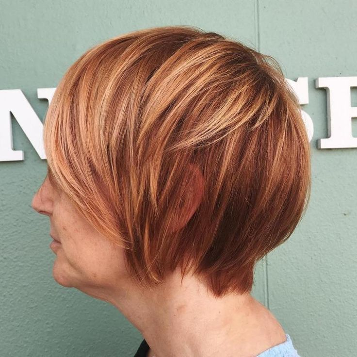50+ Short Red Hairstyle
