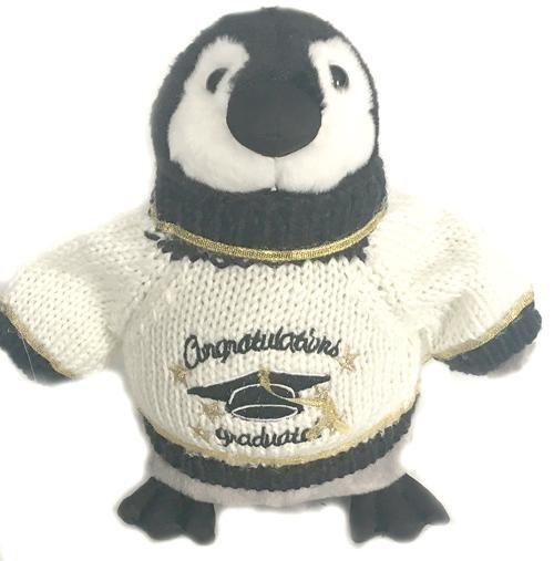 "Congratulations Graduate Penguin Plush (10"" Tall)"