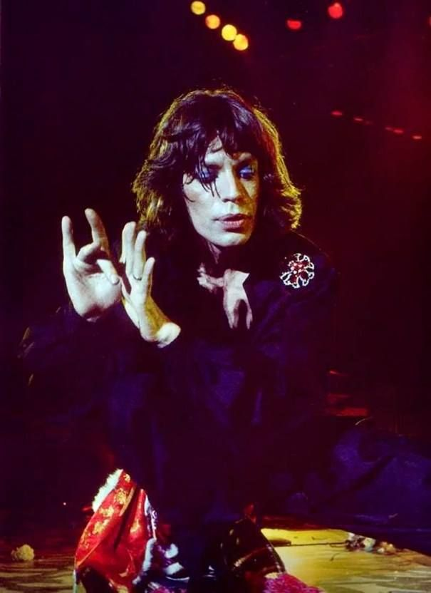 Mick Jagger L.A. Forum, 1975