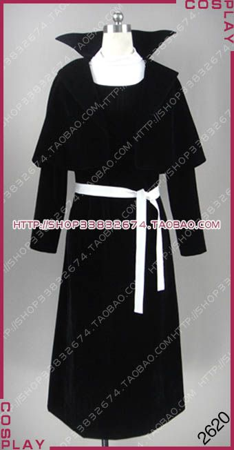 ==> [Free Shipping] Buy Best Bungou Stray Dogs Nathaniel Hawthorne Black Halloween Suit Cosplay Costume S002 Online with LOWEST Price   32815215719