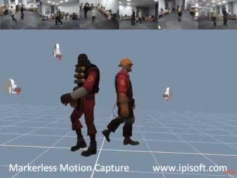 iPi Mocap - multiple character test