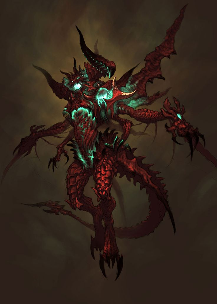 Diablo III - Diablo Concept 5