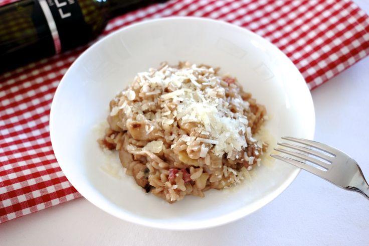 SEASONAL COOKING: Steinpilz-Maroni-Risotto | steeltheidea