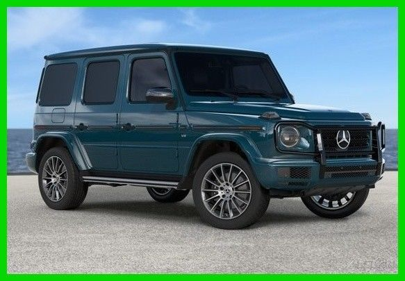 2019 Mercedes Benz G Class G 550 Designo Manufaktur Sea Blue G550