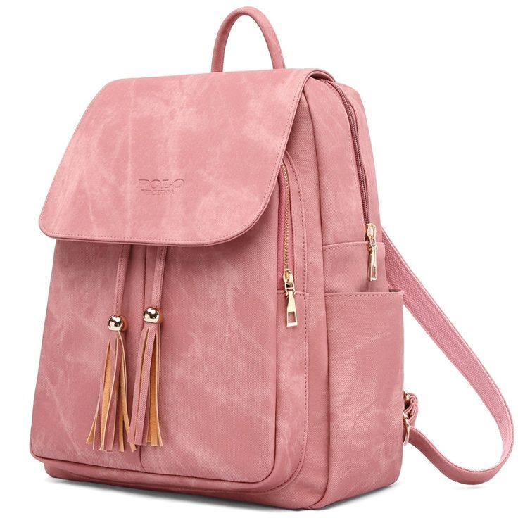 Women Backpack Youth Leather Backpacks For Teenage Girls Female School Shoulder Bag Mochila