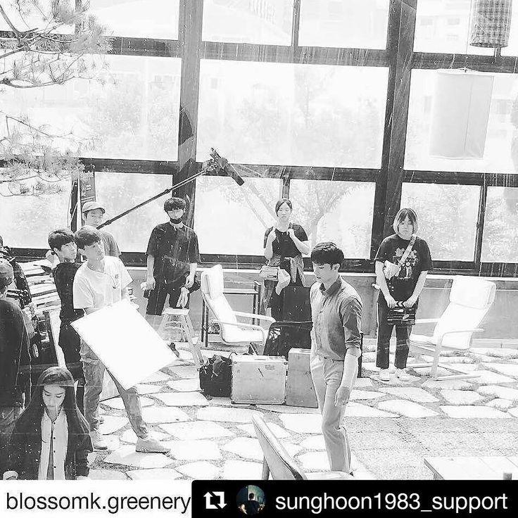 40 個讚,4 則留言 - Instagram 上的 Debbie Moh(@debbie_moh):「 #Repost @sunghoon1983_support ・・・ BTS #SUNGHOON from new movie shooting Tentative Movie title .… 」