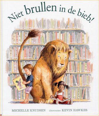 In de bibliotheek van mejuffrouw Slingelandt heerst orde en rust. Iedereen dient zich aan de regels te houden. Dat geldt natuurlijk ook voor de leeuw die op een dag binnenwandelt... (AK)
