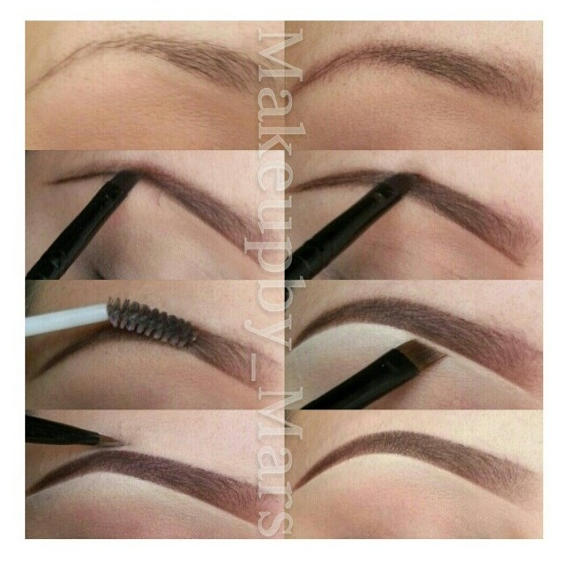 Filling in eyebrows. *I need to learn this!*