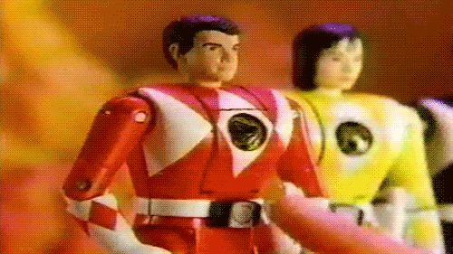 Los Power Rangers Transformables