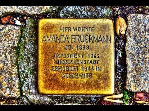 Amanda Bruckmann • Kornmarkt 10 • Stolperstein in Osterode am Harz ...
