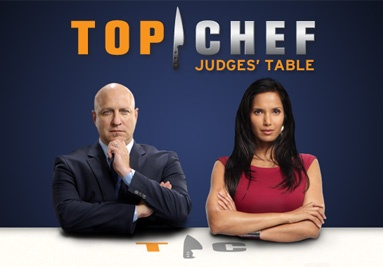 Top Chef and Top Chef Masters- I liked all the spin-off competitions they had.  I'm not saying I would EAT what they made- I like the simple food-too many foods I don't like.  *sigh*