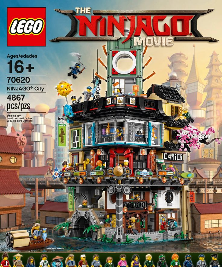 LEGO has just revealed The LEGO Ninjago Movie direct-to-consumer set, 70620 Ninjago City, on social media.