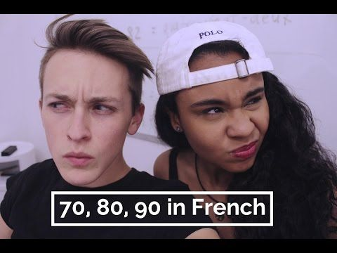 How to Say 70, 80, 90 in French - YouTube