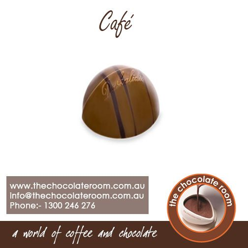 Try the delicious #Cafe #Chocolate - #Coffee praliné with a subtle tonka bean flavor  For more updates,follow @chocolateroomau or visit us at www.thechocolateroom.com.au