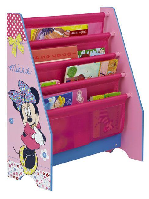 minnie mouse kids furniture | Mickey & Minnie Mouse Minnie Mouse Sling Bookcase Furniture 100% ...