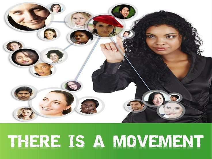 Thee's a new movement happeing on socail media iQ Presentation - iqdreamteam