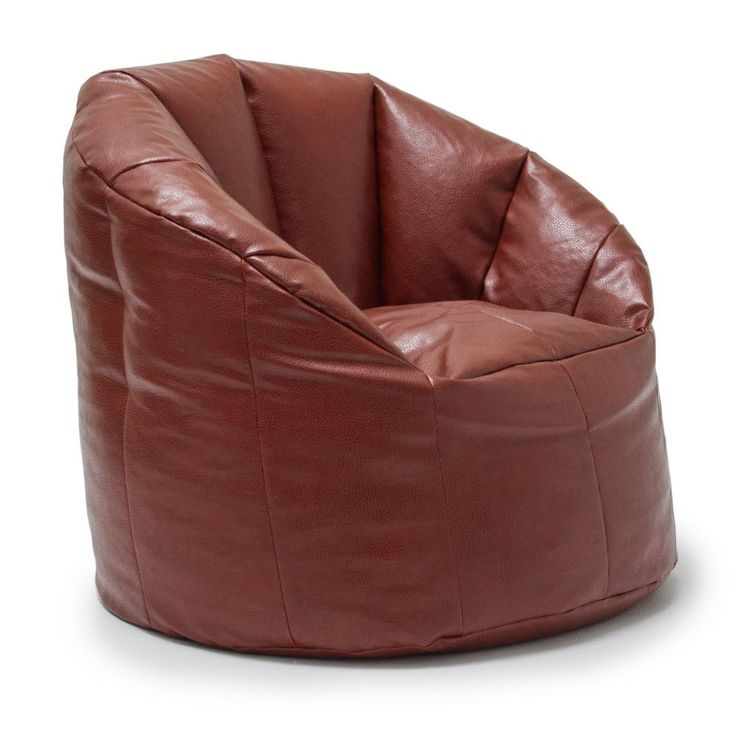 Comfort Research BeanSack Big Joe Milano Vegan Leather Bean Bag Chair  (Crimson), Red - Best 25+ Leather Bean Bag Chair Ideas Only On Pinterest Leather