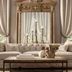 living room furniture designs restoration hardware