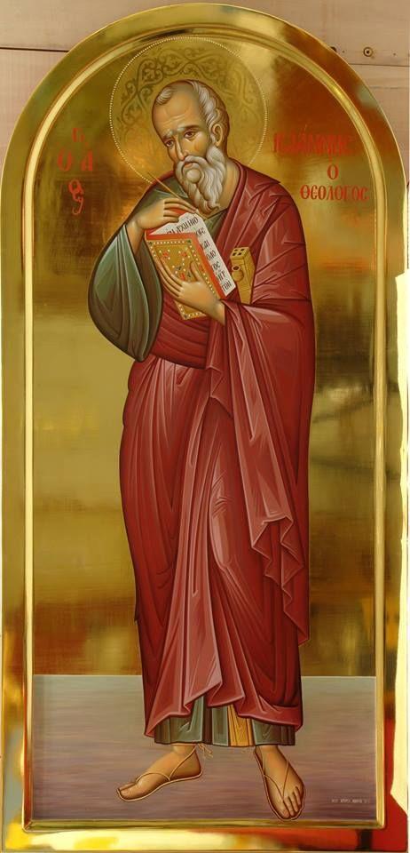 St.JohntheTheologian, Apostle and Evangelist