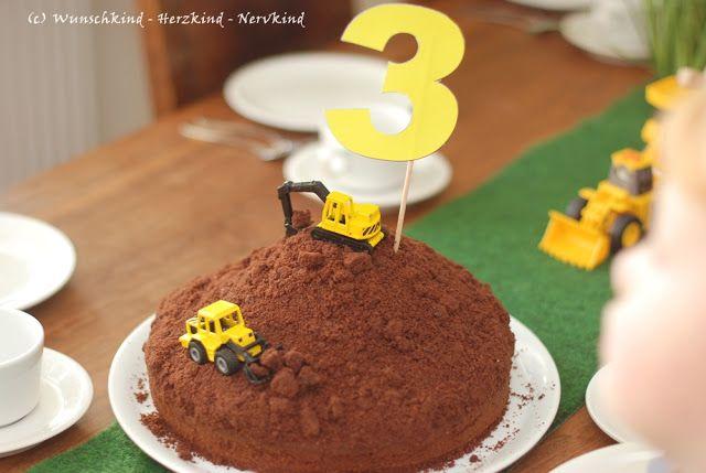 Wunschkind - Herzkind - Nervkind: Der Bagger-Geburtstag