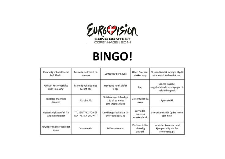 eurovision game play