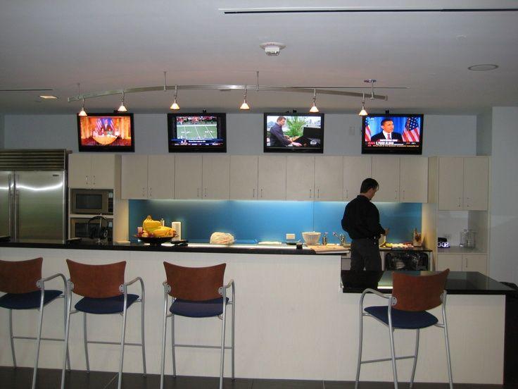 28 best break rooms corporate kitchen images on for Office break room ideas