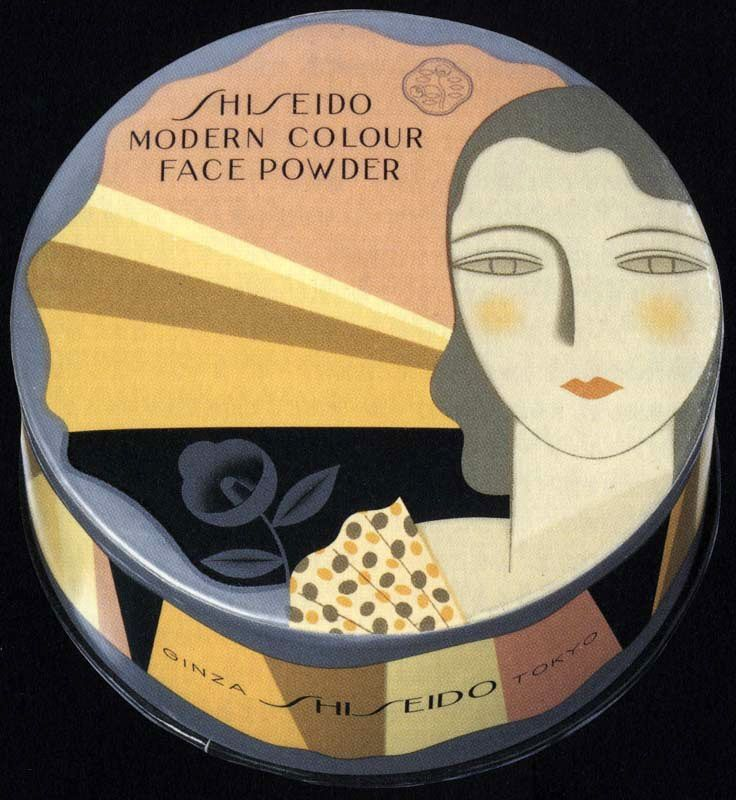 Art Déco - Boite de Poudre - Shiseido - Années 30