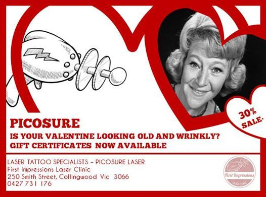 Is the love of your life looking a little...... how shall I say this delicately...... Old? Wrinkly? Passed their used by date? In need of a revamp or remodel? If you can't think of anything to get your Beau or Girl this Valentine give us a buzz and and we can organise a gift certificate for you!