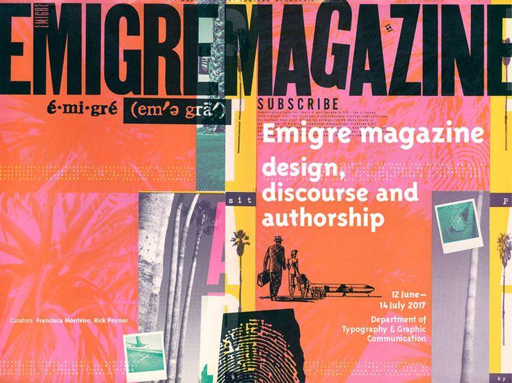 Émigré magazine exhibition, by The University of Reading
