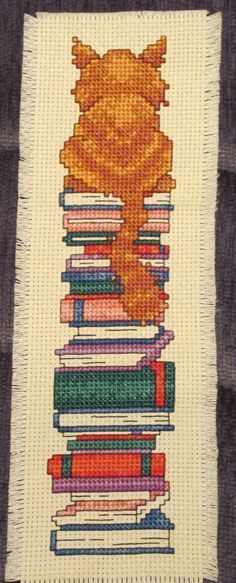 Image result for cross stitch bookmark