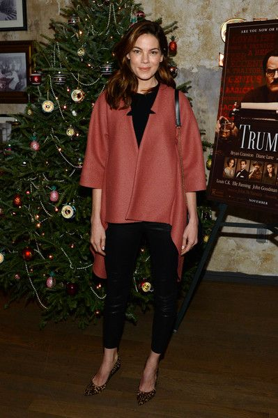 Actress Michelle Monaghan attends a celebration for Bryan Cranston at House of Elyx on December 13, 2015 in New York City.