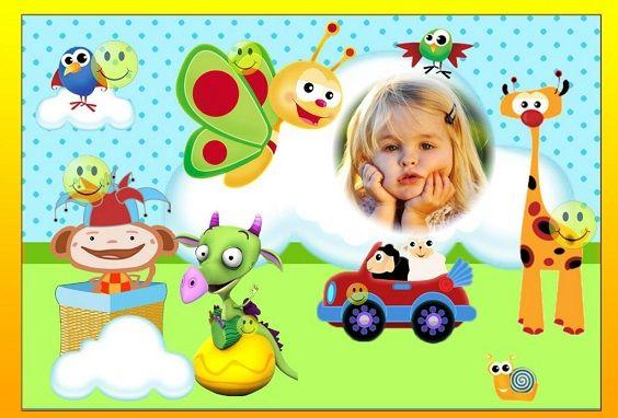 Fotomontajes de Baby Tv - Marcos de Baby Tv para editar fotos