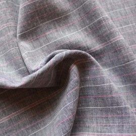 "Linen/ Viscose Chambray 2.25m x 132cm (52"") for Esme. Or buy MM dress shirt pattern? Would be perfect. 65% linen 35% viscose"