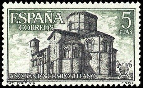Fromista (Palencia) - 1971 Año Santo Compostelano