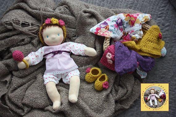DEPOSIT 14 inch Custom Waldorf OOAK rag handmade baby