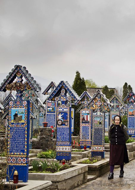 Happy Cemetery Sapanta Romania www.haisitu.ro #beautifuldestination #haisitu
