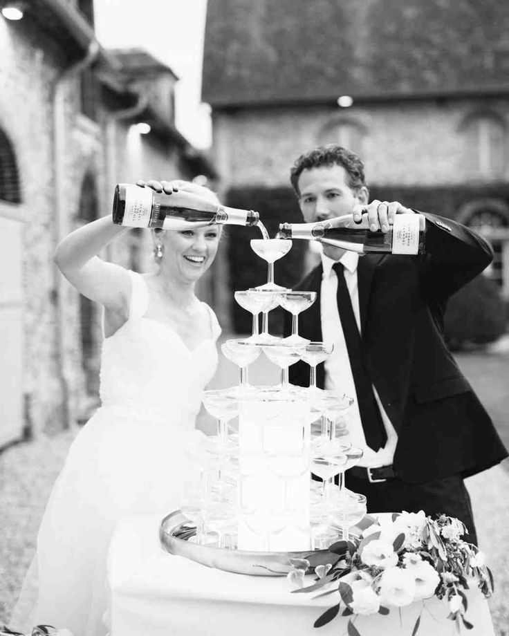 An Elegant Intimate Wedding in the French