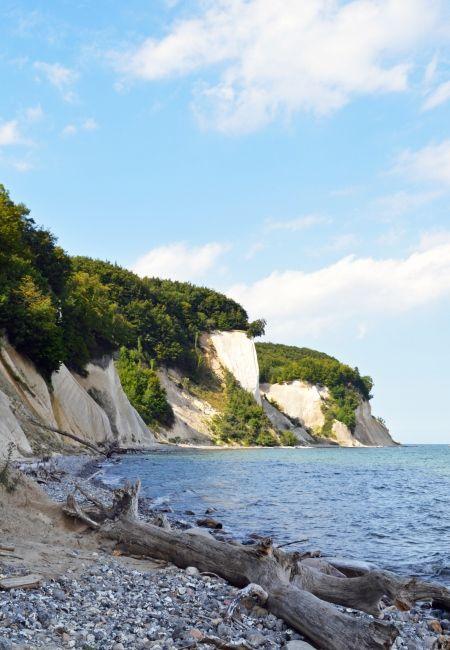 Wanderweg im UNESCO Weltkulturerbe auf der Insel Rügen