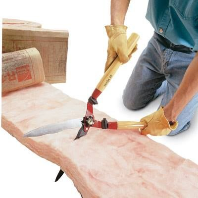 DIY Tip of the Day: Easy Way to Cut Insulation. Here's a faster, cleaner way to cut fiberglass insulation. Use a hedge shears to slice through the insulation.Unlike a utility knife, the shears won't spread loose tufts of insulation allover, and the best part is, you stay itch free. - Michael Horton The Family Handyman