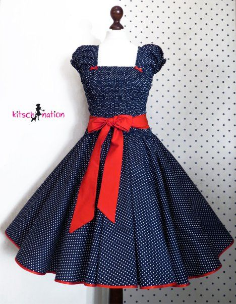 Kitsch Nation Dress  http://pinup-fashion.de/8780/kitsch-nation-handgemachte-retro-mode-aus-berlin/