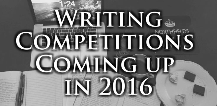 Writing competitions scheduled for 2016