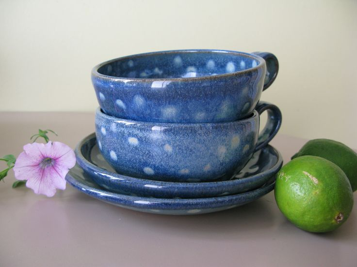 Can be used ad either soup bowls with saucer or large latte cups.